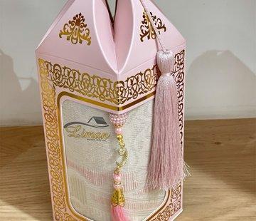 2 Delige Gebedsset Met Luxe Doos Roze