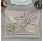 Simala Tafelkleed Set Poeder Roze 26 Delig