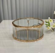FUGURATO Fugurato Elegance Antalya Platteau / Bonbonniere Goud