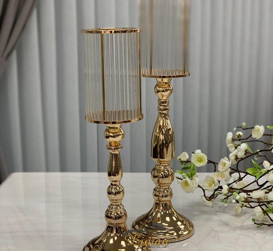 Fugurato Elegance Antalya Kandelaar M Goud