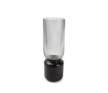 ATS Coco Vase 12xH36,5cm  smoked