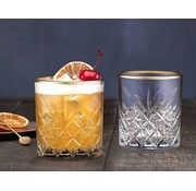 PASABAHCE Pasabahce Timeless Gold Touch Limonade Glas 4 Delig