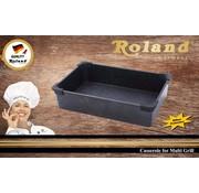 Roland Roland Losse Braadpan Granit voor Tost & Grill machine