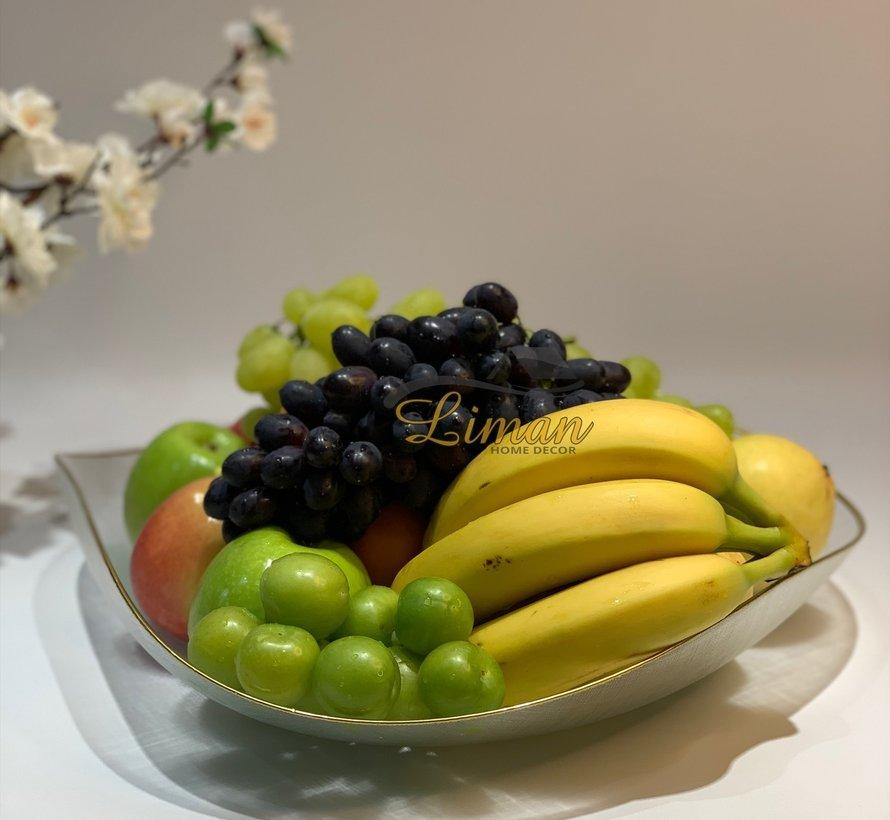 Bricard Sis Fruitschaal 40 Cm Goud - Transparant