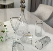 BRICARD PORCELAIN Bricard Celine Glazenset 12-Persoons   25-Delig Zilver