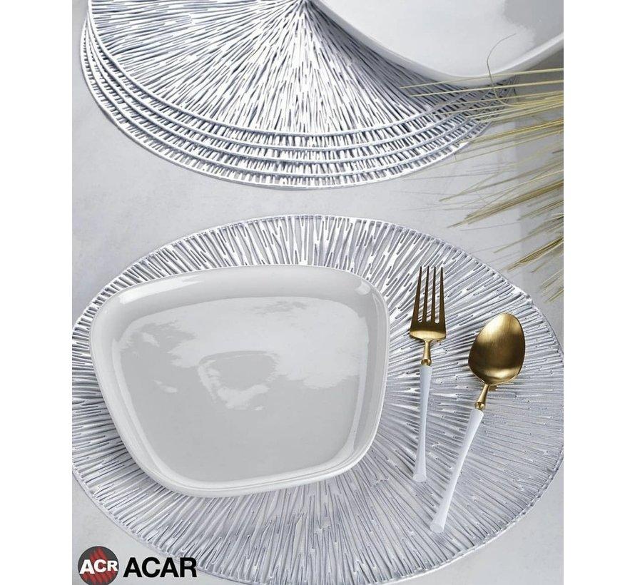 ACR Placemat Zilver 6 Dlg