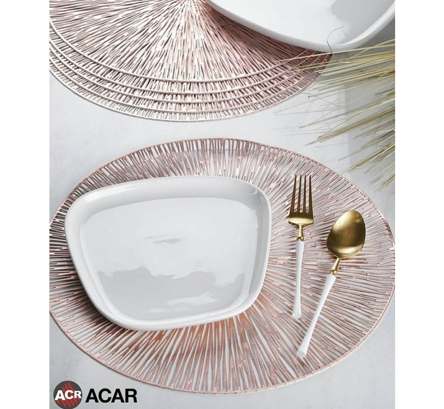 ACR Placemat Rosegold 6 Dlg