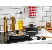 TAC Tac Granit Plus Omeletset Zwart 8 Dlg