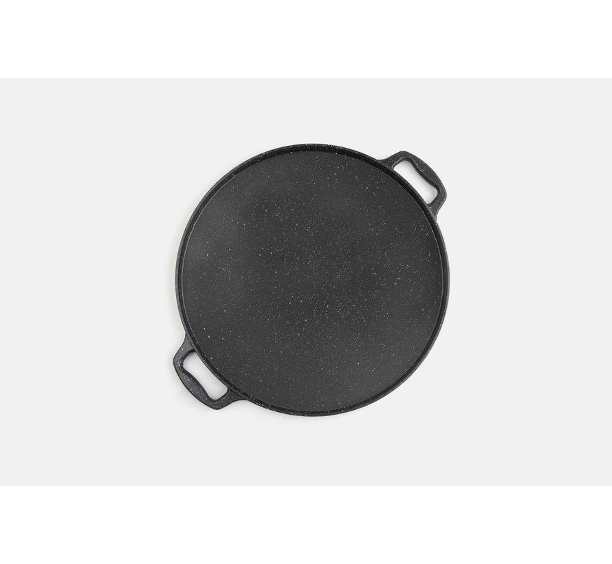 Tac  Granit Grill en Gozleme pan 36cm Zwart