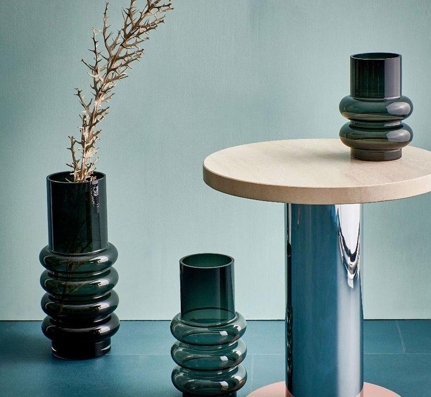Bold Vase 13xH18cm schwarz
