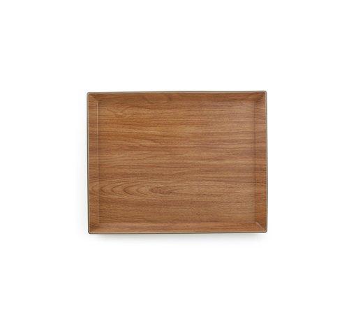 BonBistro Buffet Dienblad 38x30xH2,5cm bruin