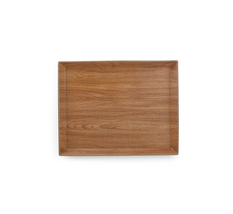 Buffet Dienblad 38x30xH2,5cm bruin