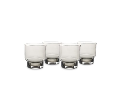S P Collection Glas 30cl smoked Secrets - set/4