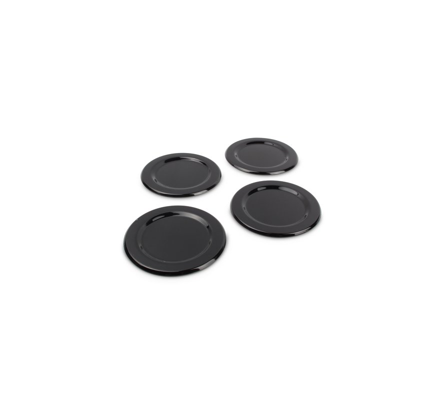 S|P Collection Coaster black Cheers - set/4