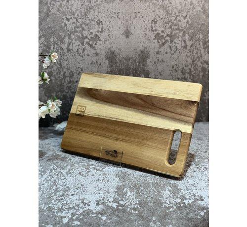 ONA Snijplank 34x22cm hout Dice