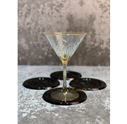 S|P Collection S|P Collection Coaster black Cheers - set/4