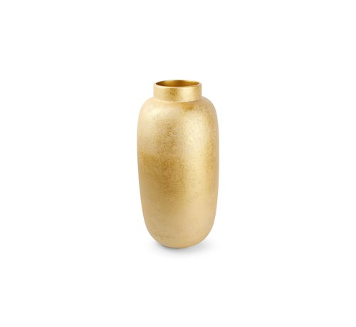 S P Collection Bullet Vaas 23,5xH49,5cm Gold