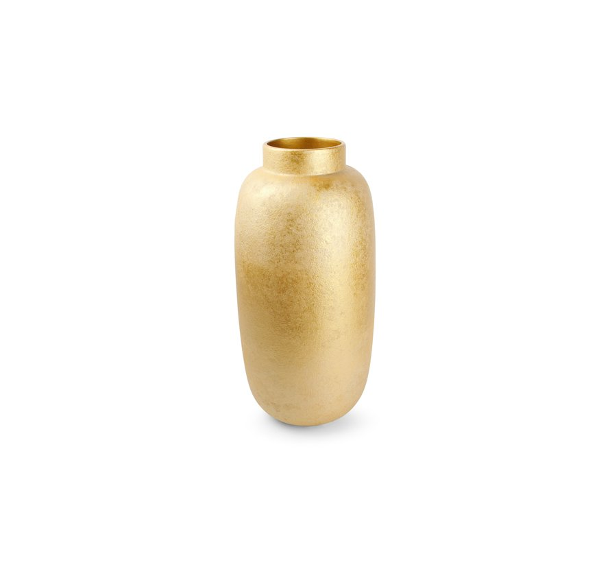 Bullet Vaas 23,5xH49,5cm Gold