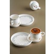 ACR Acr Royal Batic Espresso set 12 Delig  - Wit