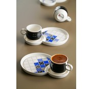 ACR Acr Royal Batic Espresso set 12 Delig  - Zwart