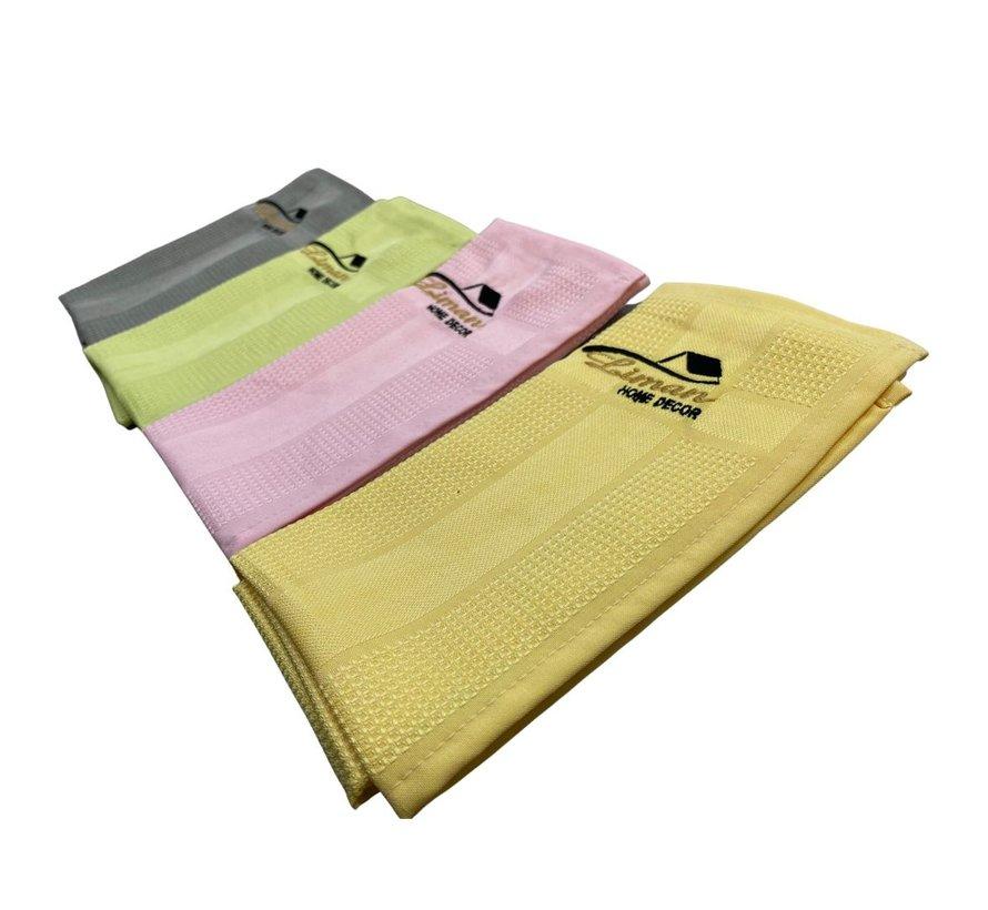 Liman®  Microfiber reiniging doekjes (4 stuks)
