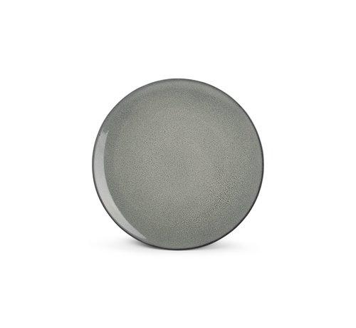 BonBistro Ash Gebaksbord 25cm grijs