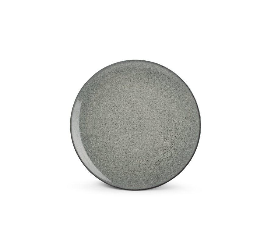 Ash Gebaksbord 25cm grijs