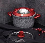TAC Tac Smart Granit Snelkookpan Rood 4 Liter