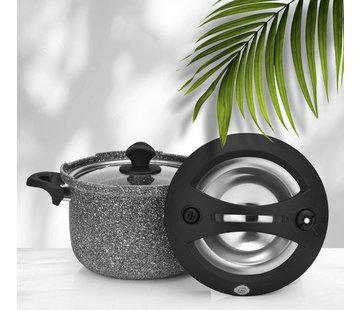 TAC Tac Smart Granit Snelkookpan Zwart 4 Liter