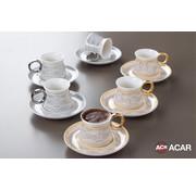 ACR Acr Christa Goud Espresso set 12 Delig