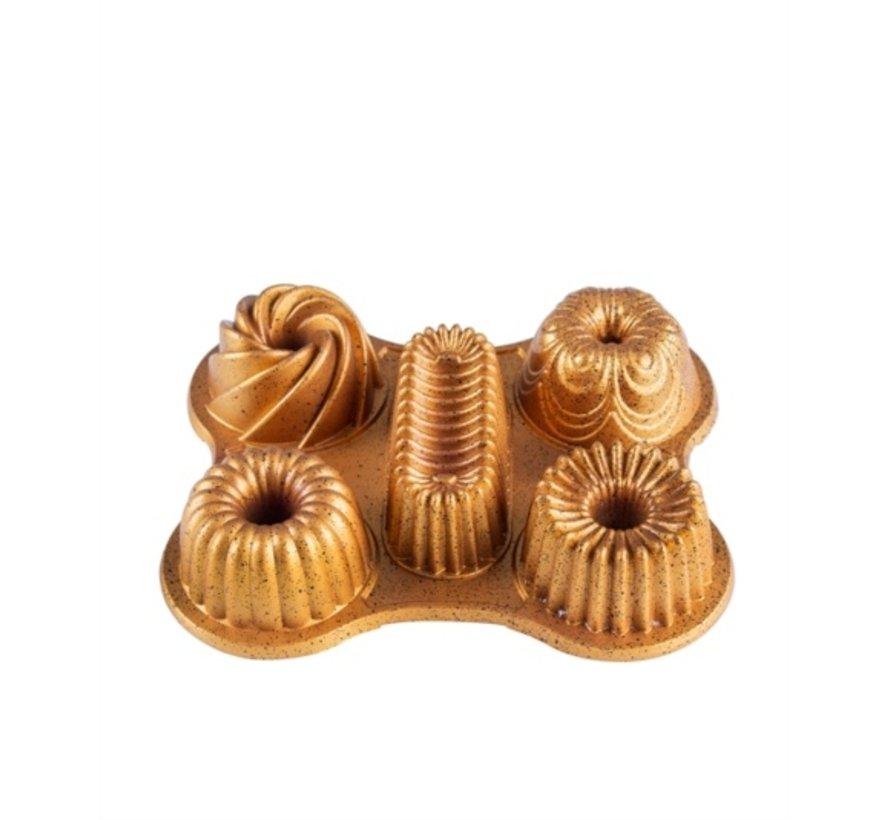 ACR MUFY GRANIT MINI CAKEVORM GOLD