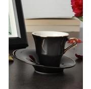 ACR ACR Istanbul 12 Delig Espressoset Zwart