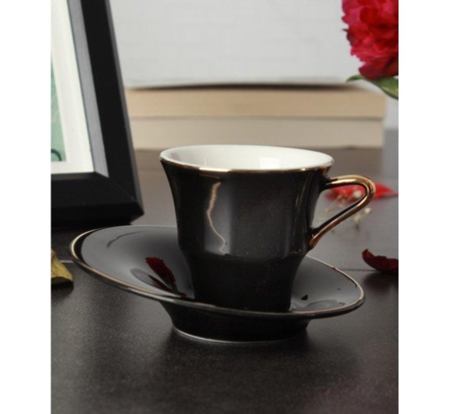 ACR Istanbul 12 Delig Espressoset Zwart