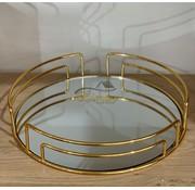 Tel Rond Dienblad 35Cm Gold