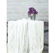KARACA HOME Karaca Elite Raschel Tafelkleed ( Runner )  Cream 60 x 160 cm
