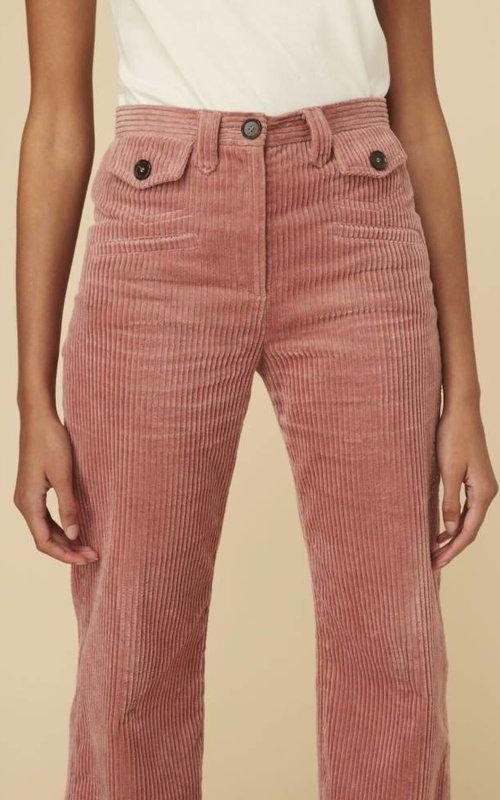 Alexa Chung Pocket wide leg trouser