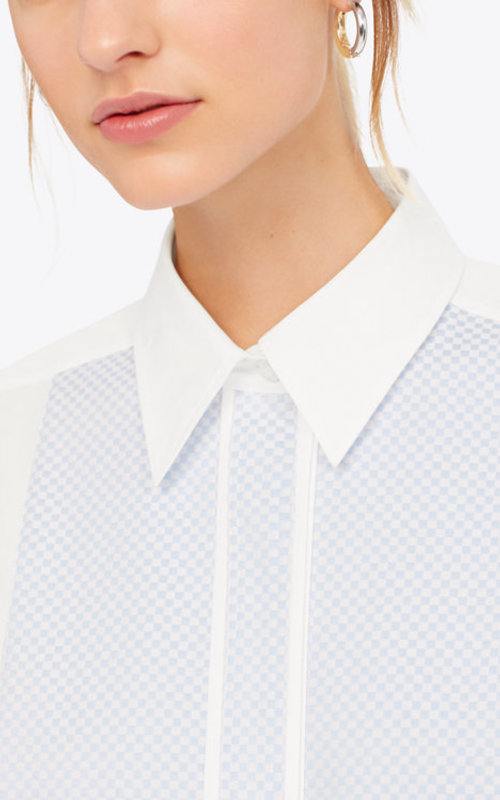 Tory Burch Cotton shirt with blue