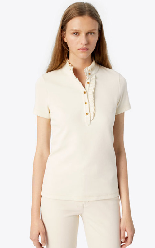 Tory Burch Emily Polo New Ivory