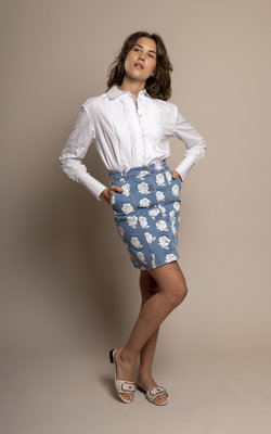 Kenzo High waisted denim skirt