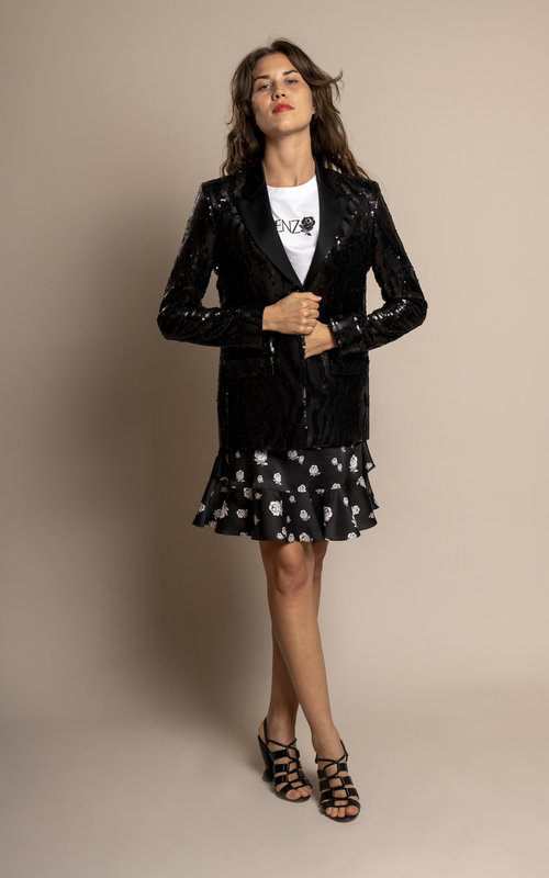 Sequins tuxido jacket