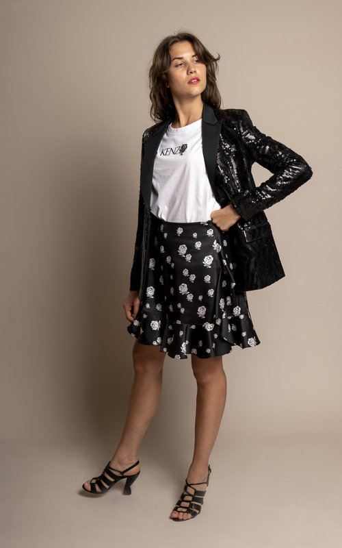 Each X Other Sequins tuxido jacket