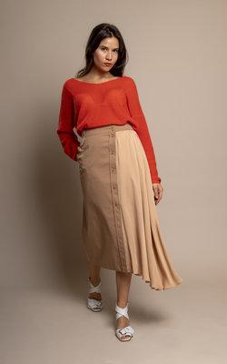 Sportmax Shape shifting asymmetric skirt