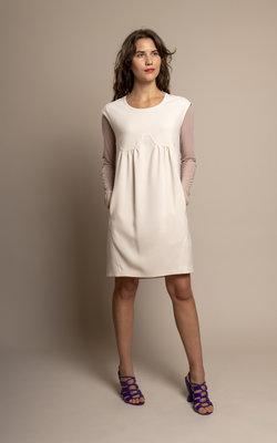 Neil Barrett Serene ivory dress