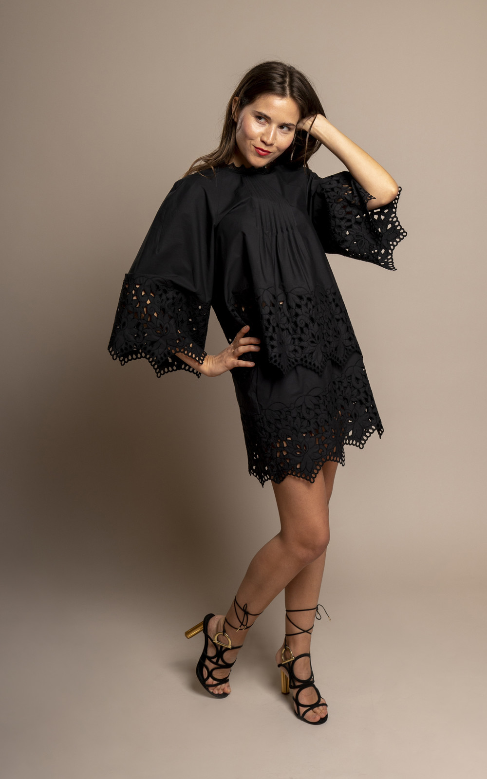 Giamba Black swan skirt