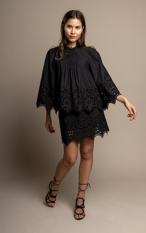 Black swan blouse