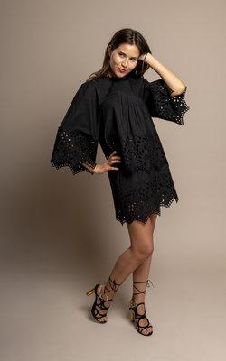 Giamba Black swan blouse