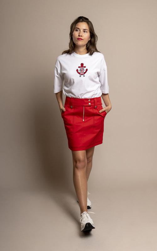 Mini Structured Skirt