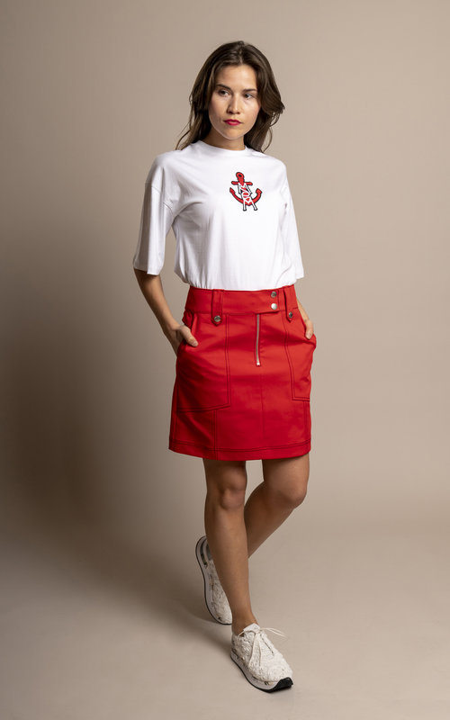 Kenzo Mini Structured Skirt