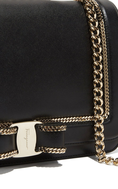 Salvatore Ferragamo Vara Chain Nero Liberty
