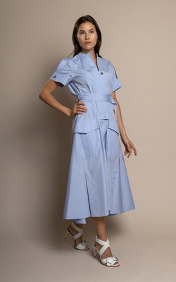 Sportmax Fionda blue dress